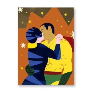 Baciami Forte #4 - illustrazione di Sara Stefanini