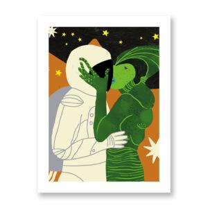 Baciami Forte #5 - illustrazione di Sara Stefanini