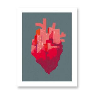 Arabia felix - illustrazione di Chiara Ghigliazza, Stampa Fine Art