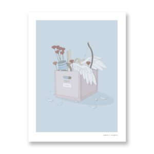 Cupid - illustration by Maniaco D'amore, Fine Art Print