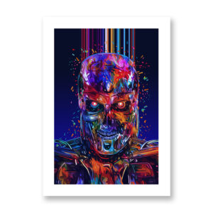 Terminator - illustrazione di Kaneda, Stampa Fine Art