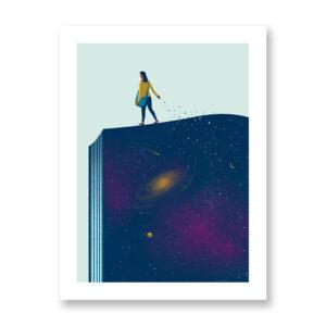 Seeds – illustrazione di Davide Bonazzi, Stampa Fine Art