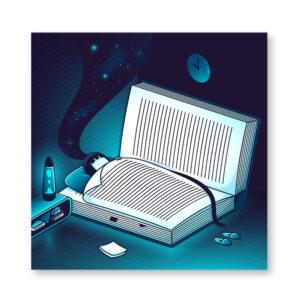 Imagination training - illustrazione di Elia Colombo, Stampa Fine Art