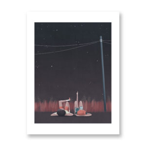 Friendship - illustrazione di Federica Fabbian, Stampa Fine Art
