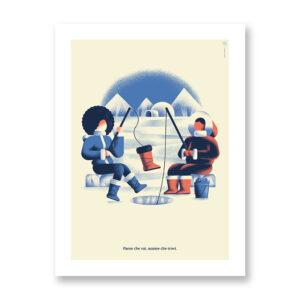 Paese che vai… #2 - illustrazione di Daniele Simonelli, Stampa Fine Art
