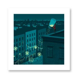 Spread The Magic - illustrazione di Davide Bonazzi, Stampa Fine Art