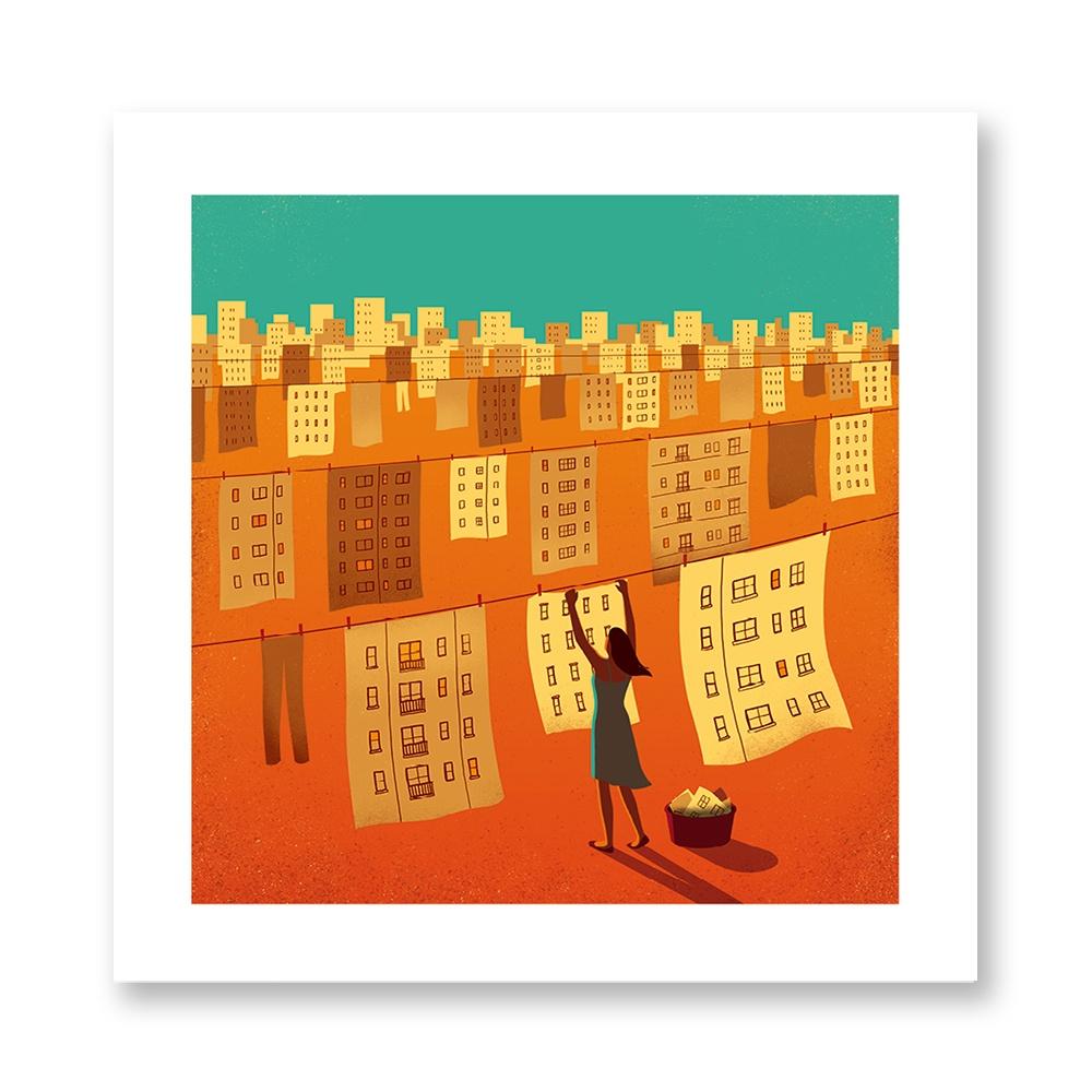 davide-bonazzi-poster-fine-art-print-stampa-home-illustrazione-illustration-gift-casa-regalo-maggio-may-internazionale-bucato-laundry