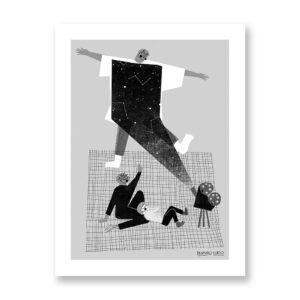 Considerare - illustrazione di Fernando Cobelo, Stampa Fine Art