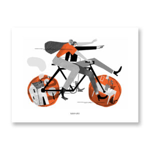 Dinamica - illustrazione di Fernando Cobelo, Stampa Fine Art